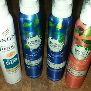 Other - 4 bottles foaming conditioner